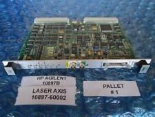 HP Agilent 10897B VME Laser Axis Board Working! 10897-60002 Qty