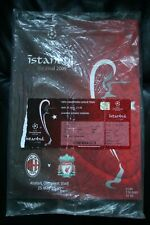 AC MILAN V Liverpool 2005 CHAMPIONS LEAGUE FINALE programma e ticket