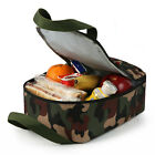 ***NEW Arctic Zone Camo Uprighgt Lunch Box Kit Easy Clean Ice Pack Camouflage
