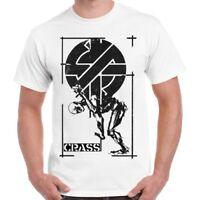 Crass Punk Anarchy British Street Punk Graffiti Retro T Shirt 76
