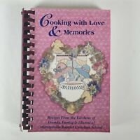 Vintage Cooking With Love And Memories Spiral Bound Community Cookbook