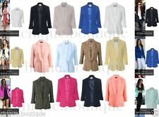 No Pattern Regular Jacket Only Suits & Tailoring for Women