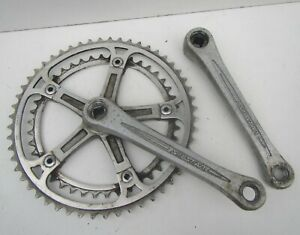 Vintage Silstar Bicycle Two Speed Crank Chainset