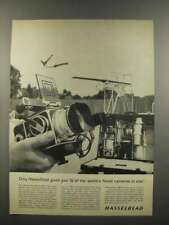 1961 Hasselblad 500C Camera Ad - World's Finest