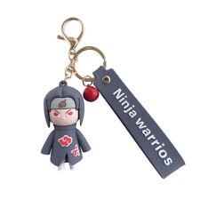 Naruto Ultimate Ninja Keychain Anime Silicone Key Ring Bag Pendant Boys Gift