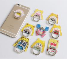 Anime Sailor Moon Cute Cartoon Girls Phone Mount Finger Ring Holder Mobile Stand