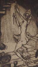 Josef Hauptmann Krems, Circe, Radierung, handsigniert