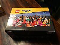 LEGO 71017 Collectible Mini-figures LEGO Batman Movie Complete Sealed box of 60