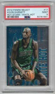 Kevin Garnett Boston Celtics 2012 Panini Select Hot Stars White Hot Card #17