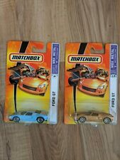 Lot Of 2 Matchbox Ford GT Die-Cast Cars