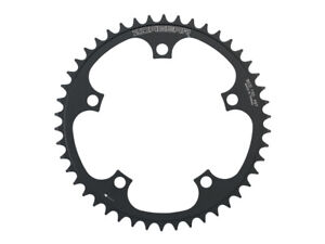 Sunlite Bicycle 1-Piece Ironcross Single Speed Chainring 44T x 3//32 Silver Black