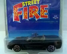 BURAGO STREET FIRE BLISTER 1:43 DIE CAST CHEVROLET CORVETTE 4826 MADE IN ITALY