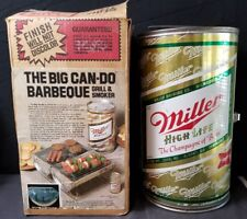 miller high life beer bbq grill