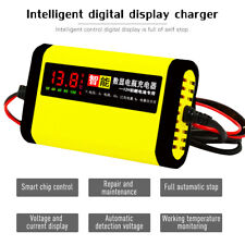 12V Charging Battery Charger Lead Acid AGM GEL For Car Truck Motorcycle USA Q3D7