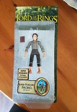 The Lord of the Rings Fellowship of the Ring Poseable Frodo ToyBiz Brand New