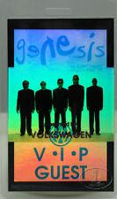 Genesis 1992 Vip Laminated Backstage Pass laser foil