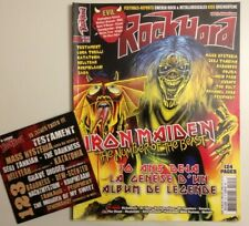 ROCK HARD N°123 2012 IRON MAIDEN + CD