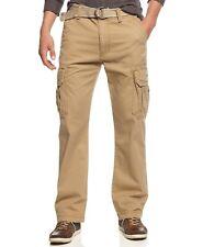 Unionbay Men's Survivor Belted Cargo Pants Rye 30 x 30 without belt