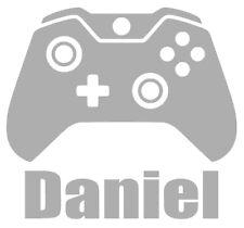Personalised Name/Controller Wall Art,Gamer,Gaming, Boys/Kids, Vinyl Sticker