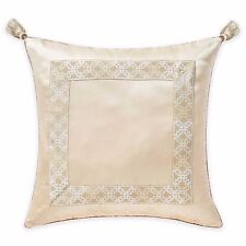 Waterford Linens Copeland One European Pillow Sham in Champagne 26 X 26 New