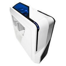 NZXT PHANTOM 410 WHITE ATX MATX MINI ITX USB 3.0 PC CASE WITH SIDE WINDOW & FANS