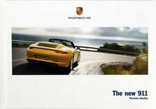 "Porsche 911 brochure: ""the new 911"" 2013 Book 147 pages"