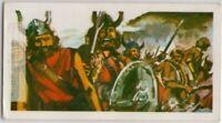 Leif Erikson Norse Explorer Iceland Newfoundland  Vintage Trade Ad Card