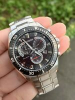 Citizen Eco Drive Chronograph H500-S101662 Gents Stainless Steel Watch RRP £199