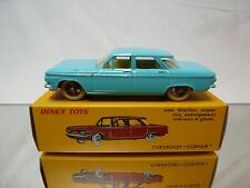 DINKY TOYS ATLAS 552 CHEVROLET CORVAIR - LIGHT BLUE 1:43 - MINT IN BOX