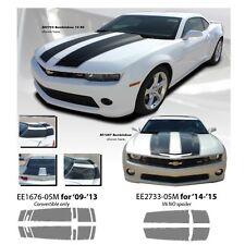 """Bumblebee"" Chevrolet Camaro '14-15 V6/No Spoiler Graphic Kit - Metallic Silver"