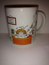Hallmark coffee mug Cup Vintage made in Japan how to get along at the office