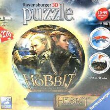 The Hobbit Desolation of Smaug Ravensburger PuzzleBall Globe 270 pcs Germany
