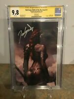 Red Sonja: Birth of the She-Devil #1 CGC SS 9.8 Virgin Signed by Jeehyung Lee