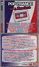 2 CD POP FRANCE 80'S REMIXES 33T NEUF SCELLE DESIRELESS/LAURENS/MADER/NOAM/RINGO
