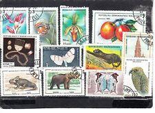 Schönes Lot Briefmarken aus Madagaskar gestempelt