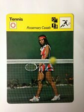 1978 editions rencontre card/tennis-rosemary casals
