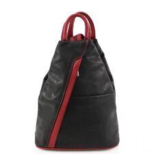 New Women's Ladies Genuine Leather Italian VERA PELLE Soft Back Pack Rucksack