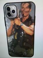 Arnold Schwarzenegger Commando phone case  iPhone 11 X XR XS Max 8 7 6 5