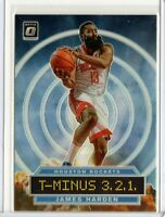 JAMES HARDEN Rockets 2019-2020 NBA Donruss OPTIC T-MINUS HOLO INSERT #4