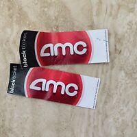 2 AMC Theatre Black Movie Tickets - No Expiration