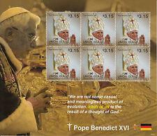 Union island Grenadines St Vincent 2014 neuf sans charnière le pape Benoît XVI 6V m / s ii Papes