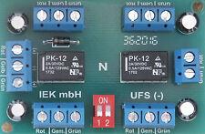 Universal-Fernschalter, UFS -, Relais bistabil 1x4 oder 2x2 UM, Relaisplatine