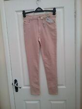 M & S Blush Pink Super Skinny Jeans with Lyocel  Size 12 Regular BNWT