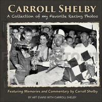Carroll Shelby Collection Of Favorite Racing Photos SCCA Cobra Mustang Charger