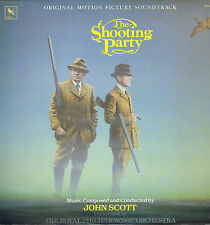 "LP 12"" 30cms: BO du film: the shooting party. John Scott. varese sarabande"