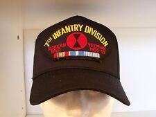 #1526 7th Infantry Division Korean War Veteran Ballcap Cap Hat