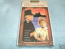 The Merchant of Venice (1973, VHS) - LAURENCE OLIVIER / JOAN PLOWRIGHT - NEW