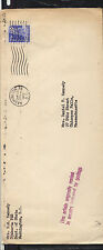 Indonesia , US   diplomatic pouch mail cover,  US cancel  1955       MS1214