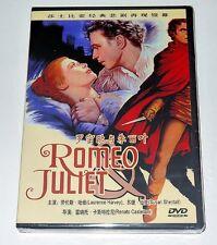 "Renato Castellani ""Romeo and Juliet"" Laurence Harvey 1954 Classic DVD"