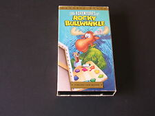 Rocky And Bullwinkle Video Tape Vincent Van Moose